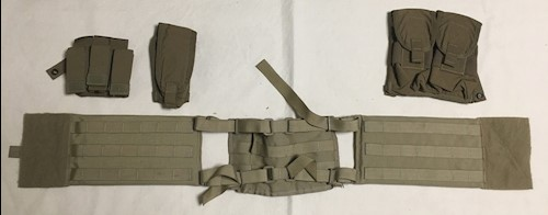 Diamond Back Battlelab Tactical Cummerbund w kevlar inserts and Mag pouches LARGE