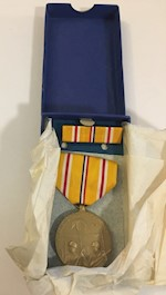 Asiatic - Pacific Campaign Medal & Ribbon THUMBNAIL
