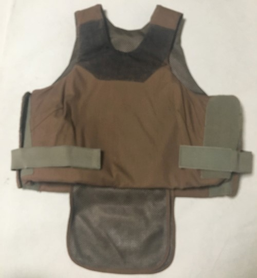 IIA Concealable Safariland Body Armor 36 Long SWATCH