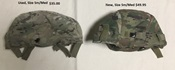 USGI MICH MultiCam ACH ECH Helmet Covers with IR Tabs & Cat Eye Band Option THUMBNAIL
