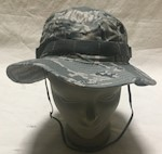Air Force Digital Tiger Stripe ABU Boonie Sun Hat Size 7 1/4  New Bernard Cap Company THUMBNAIL