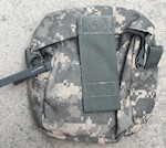 Army Medic Pocket, zippered, goes with the 4150 Medical backpack THUMBNAIL