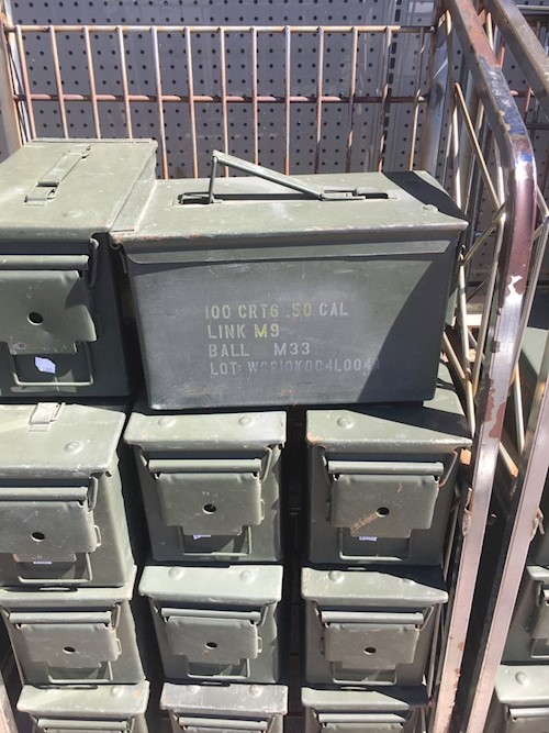 Army M2A1 50 Cal Genuine US Military Surplus Ammo Can LARGE