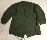 Large Vietnam Era (c.1971) M1965 Fishtail Parka with Liner Appears Unused THUMBNAIL