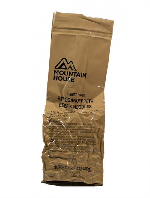 1 Mountain House Freeze Dried Long Range Patrol LRP Meal, Cold Weather MCW LARGE