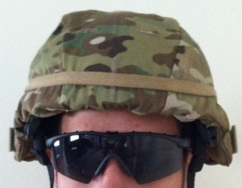 USGI MICH MultiCam ACH ECH Helmet Covers with IR Tabs