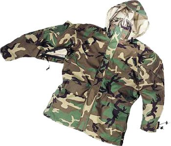 Reversible Woodland Desert Camo Gore-Tex Parka only