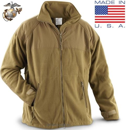 USMC Peckham Polartec 300 gram Fleece Jacket – Glenn's Army ...