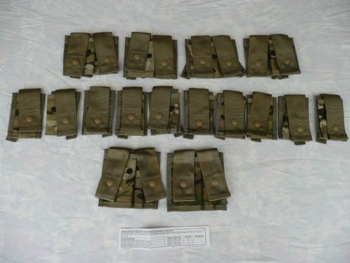 USGI Eagle Industries Grenadier Pocket Set MultiCam Camo LARGE