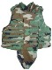 Interceptor OTV IBA BDU Woodland Plate Carrier w Soft KEVLAR Inserts, throat and groin included SWATCH