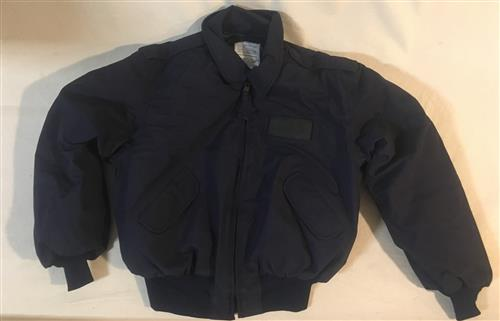 Military Security Police Winter Jacket LARGE
