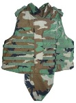 Interceptor OTV IBA BDU Woodland Plate Carrier w Soft KEVLAR Inserts, throat and groin included THUMBNAIL