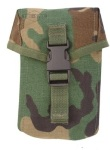 100 Round SAW Pouch Woodland  MOLLE Ammo Pouch