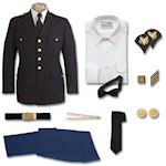 Men's Marlow White Enlisted ASU Package ALL Pieces Needed THUMBNAIL