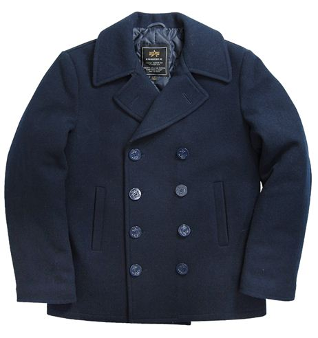 Alpha Industries Classic Navy Pea Coat