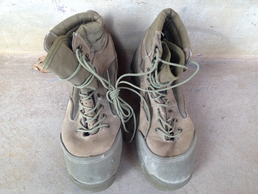 Belleville HKR 990 Mountain Combat Boot USED