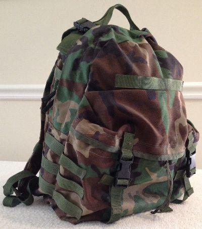 Woodland BDU 3 Day Assault Pack