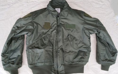 USGI ISSUED Nomex CWU 45/P OD Flight Jacket Large