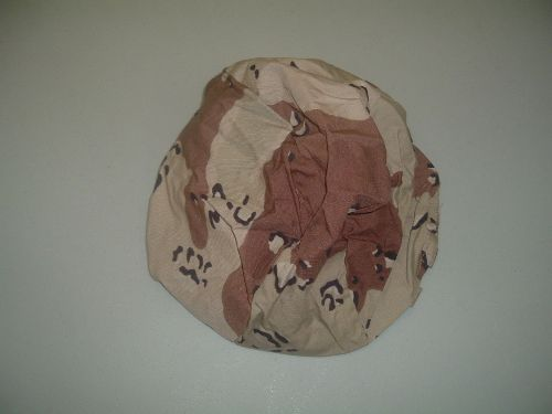USGI 6 Color Chocolate Chip Parachutist Helmet Cover