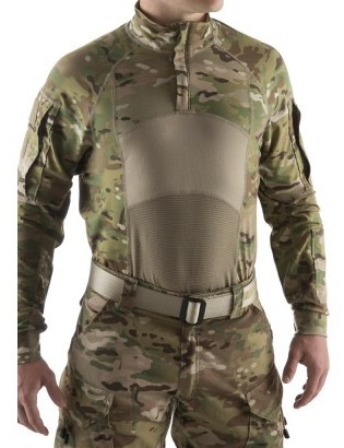 Massif OCP/Multicam Enhanced Type II 1/4 Zip Combat Shirt FR MAIN