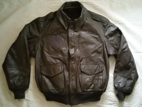 USAF A2 Leather Flight Jacket with Zip out Liner