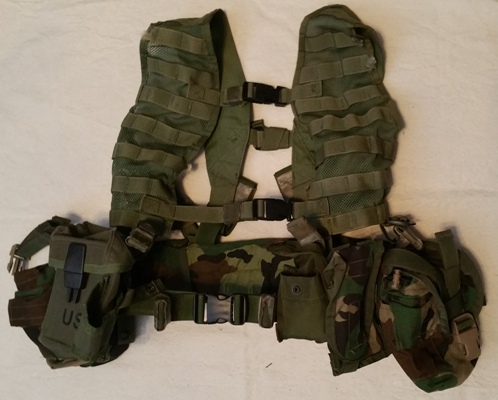 Specialty Defense Tactical 2 Buckle FLC w 5 Pouches