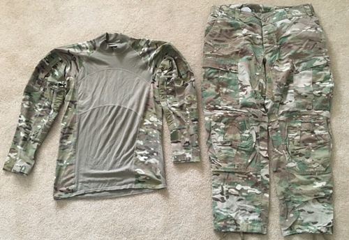 cc035b77405b Genuine Issue Fire Resistant Insect Guard MutliCam Uniforms