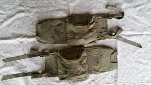 MutliCam IOTV Side Wing Plate Carrier w Side Plate Pocket