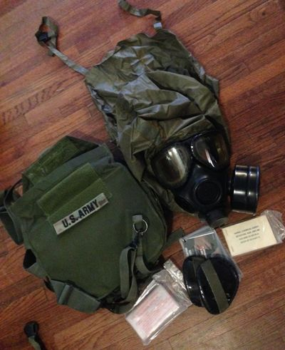 USGI M42A1 Series Military Gas Mask
