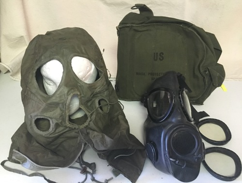 USGI M17A2 Gas Mask and/or accessories