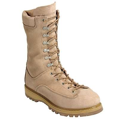 Matterhorn 10 Inch Breathable Waterproof (Gore-Tex) Olive Mojave Roughout Leather Insulated field Boot