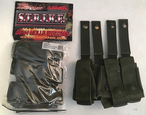Blackhawk STRIKE 40mm Triple Grenade Pouch MAIN