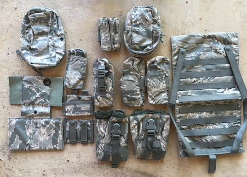 USAF Digital Tiger Stripe Riflemen's Set