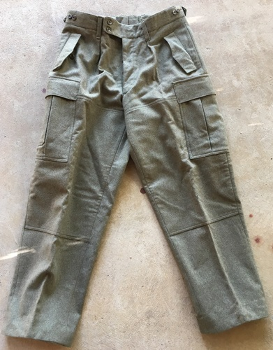 Genuine German Military Wool Pants