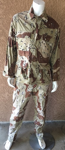 Desert Storm 6 Color Chocolate Chip Uniform Jackets and/or Pants MAIN
