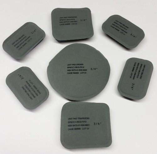 Pads Set (7 Pads) for MSA  ACH MICH Kevlar Ballistic Helmet OR Single Pads Available Choose Option MAIN