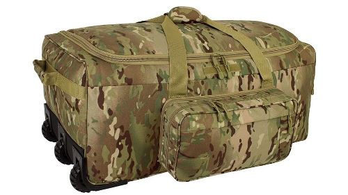 Code Alpha Multicam Wheeled Deployment  Bag