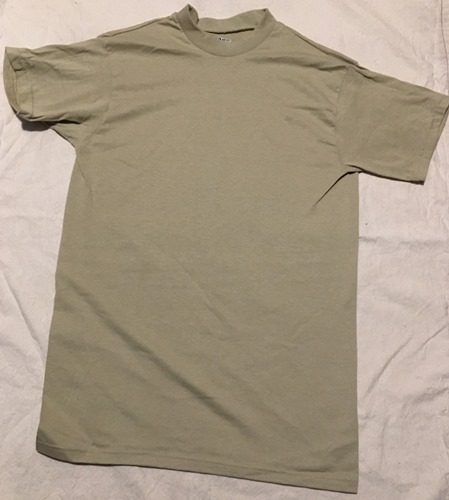 Army Issue Moisture Wicking T Shirts NEW Sand MAIN