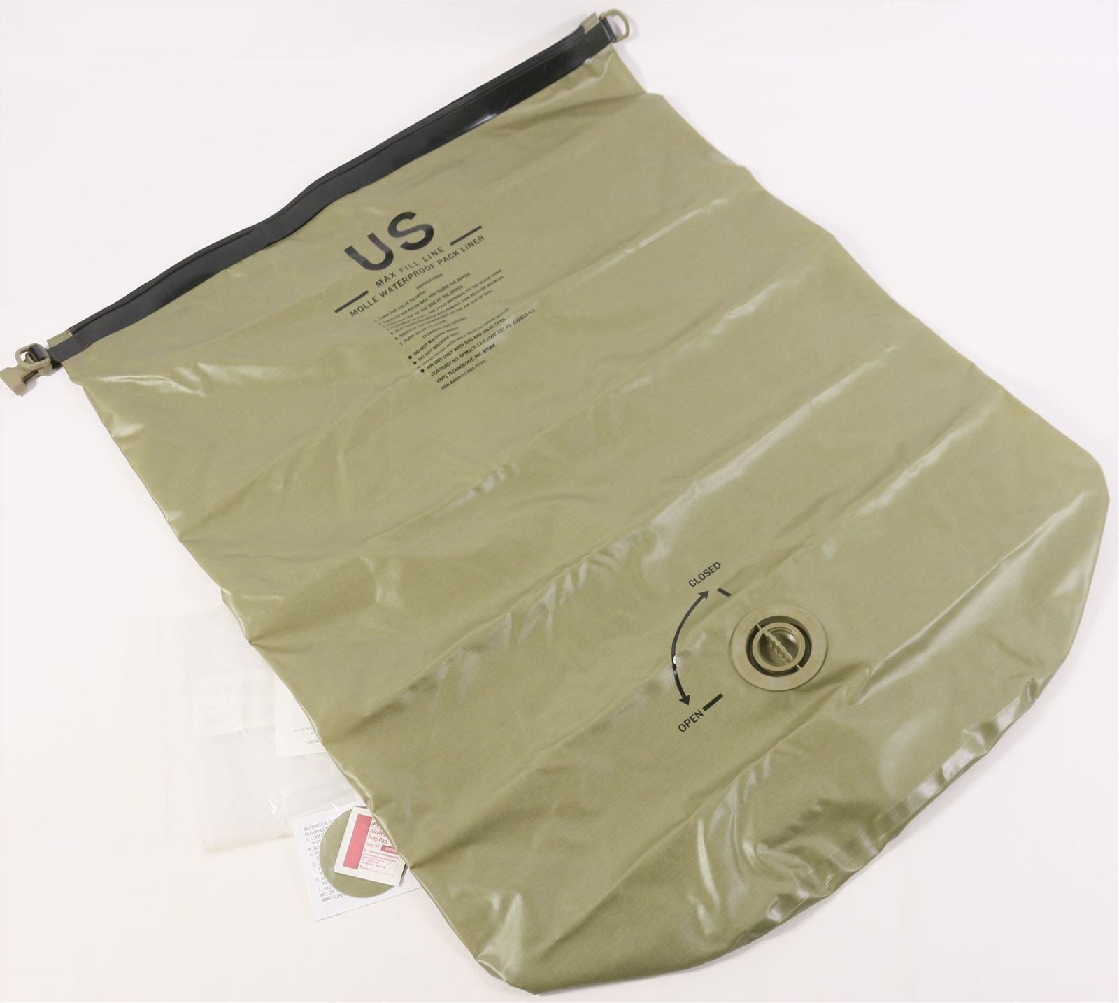 USGI Waterproof Pack Liner Assembly for Large Molle Ruck