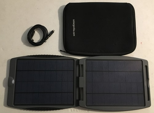 Solargorilla Rugged Water Resistant Solar Panel SG002