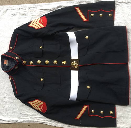 USMC Marine Corp Dress Blue Blouse and/or Trouser_MAIN