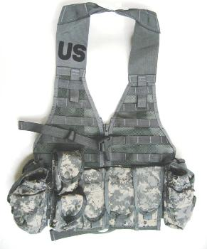ACU MOLLE USGI Fighting Load Carrier Vest FLC  Riflemen's Set