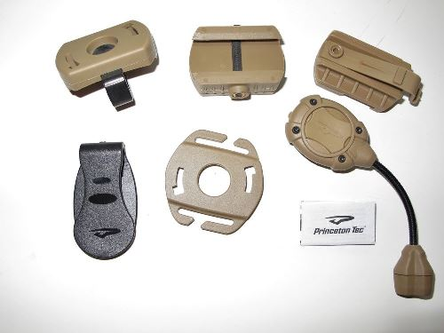 Princeton Tec Tactical Helmet Light System