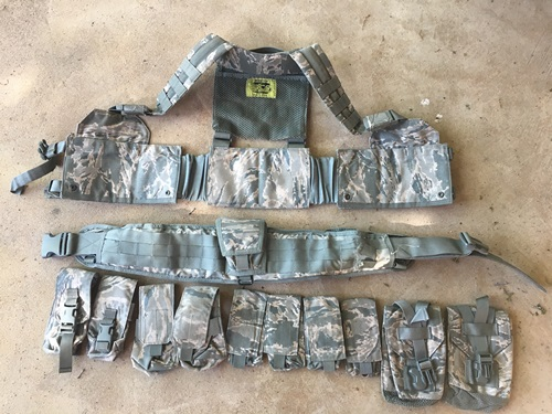 Gen 3 HGear USAF SF DF-LCS w 11Pouches and Brokos Battle Belt