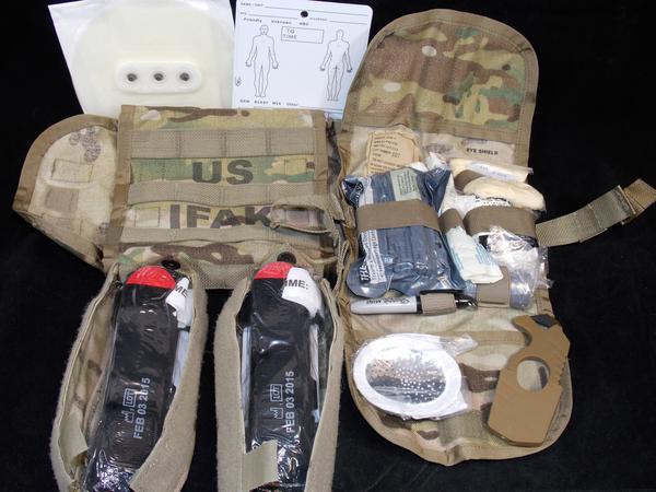 Sekri IFAK II MultiCam Combat Medic Kit Complete