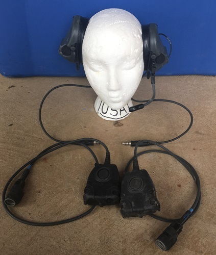 3M Peltor Com Tac II ACH Dual Communication ARC Rail Headset w PTT