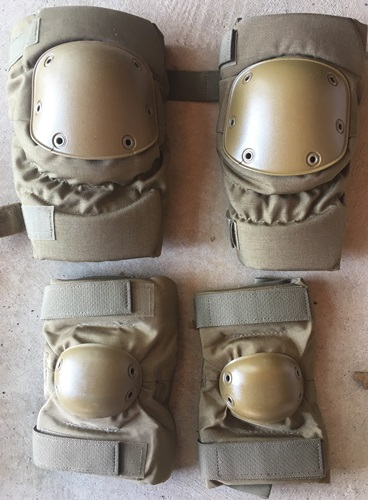COYOTE Tactical Military Knee and Elbow Pad Set LARGE