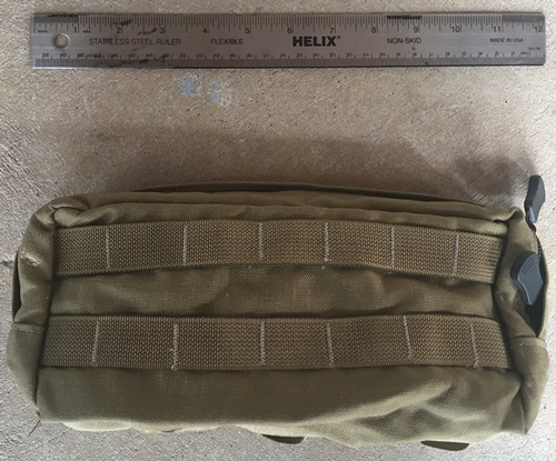 Paraclete Medium General Purpose Utility Pouch Horizontal