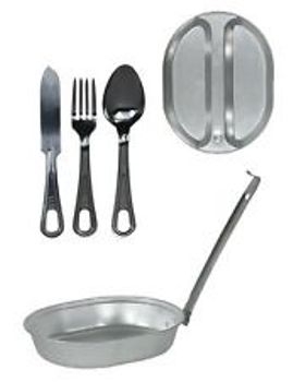 USGI Aluminum Mess Kit