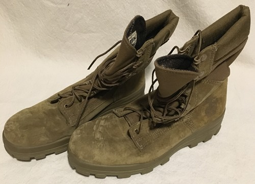 US Marine Corp Bates  Steel Toe Boots with EGA 9 1/2 Wide